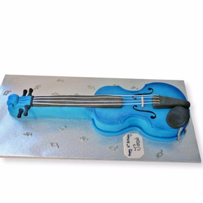 Gâteau Violon  2D  20-25 parts
