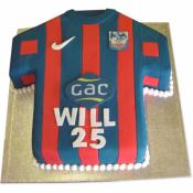 Gâteau Maillot de Football 15-20 parts