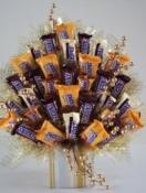 Candy Bouquet Snickers