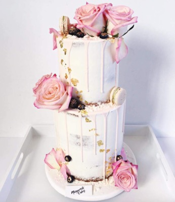 "Drip cake ""My Rose "" 25-30 parts"