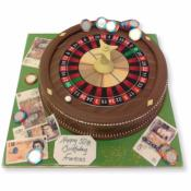 Gâteau Roulette casino 15-20 parts