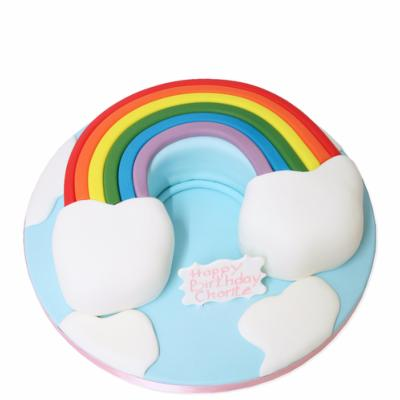 Gâteau Rainbow 15-20 parts