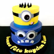 Gâteau Minion à partir de  10-12 parts