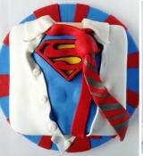 Gâteau The Superman!