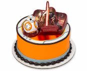 Gâteau rond Star Wars et son BB8! 10-15parts
