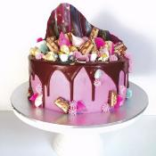 "Drip cake ""Rêve Gourmand"" 15-20parts"