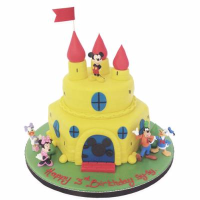 Gâteau Castel Mickey 20-25 parts