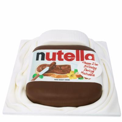 Gâteau Pot de Nutella 15-20 parts