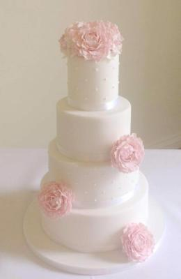 "Wedding cake ""Rosie"""