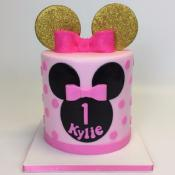 "Gâteau ""Minnie Gold!  10-15parts"