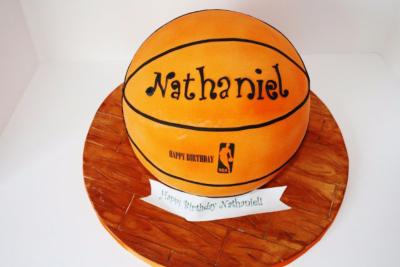 Gâteau Ballon-Basketball  10-15 parts