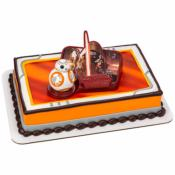 Gâteau Star Wars et son BB8! 15-20 parts