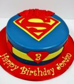 "Gâteau Superman-Men of steel""! 15-20parts"