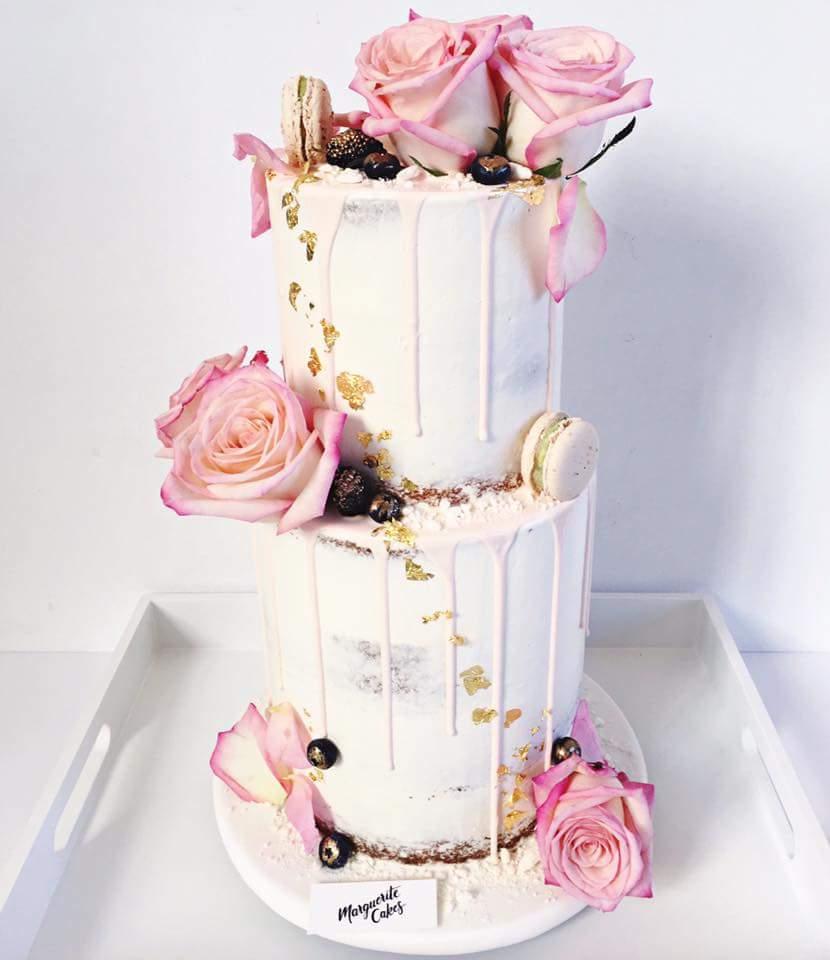 Drip Cake Quot My Rose Quot 25 30 Parts
